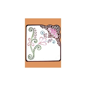KC Embroidery Pattern - Swirl