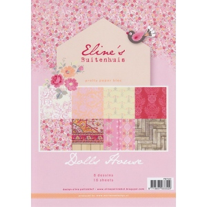 Marianne's Pretty Paper Bloc-Eline's Country - Pink