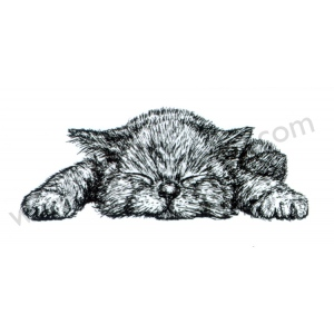 "Clear stamps Animals series ""kitten"""