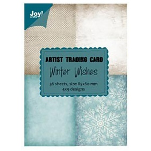 Ecstasy Crafts Artist Trading Card - Winter Wishes