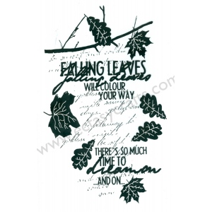 Clear Stamp - Autumn Leaves