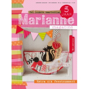 Marianne Design DOE Magazine 21 (Dutch)