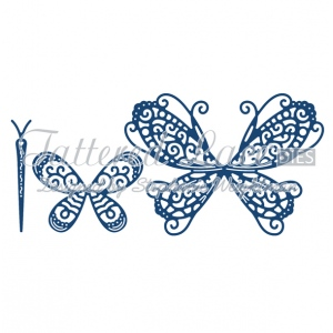 Tattered Lace Die - Build A Butterfly Splendour