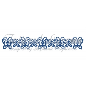 Tattered Lace Die - Butterflies Border