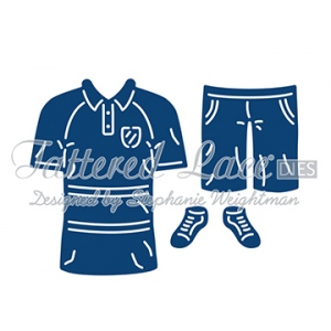 Tattered Lace Dies - George's Polo Shirt and Shorts