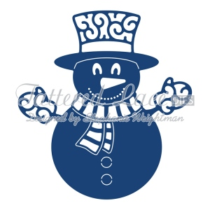 Tattered Lace Dies - Snowman