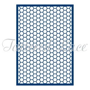 Tattered Lace Die -Mini Honeycomb Panel