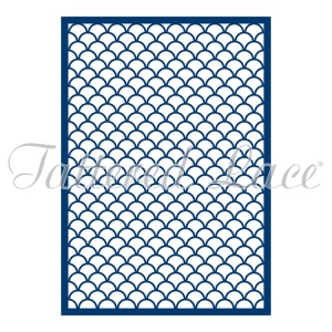 Tattered Lace  Die -Mini Clam Shell Panel
