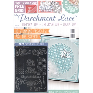 Tattered Lace Magazine Parchment Lace Magazine #05 - Free Grid