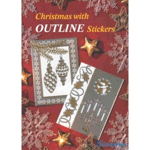 Starform Christmas With Outline Stickers..20 Pages Isbn 8717116005837