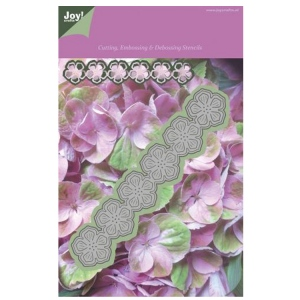 Joy! Crafts Cutting and De-bossing die - flowers Strip