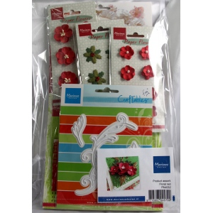 Assorted Product Pack - Floral red