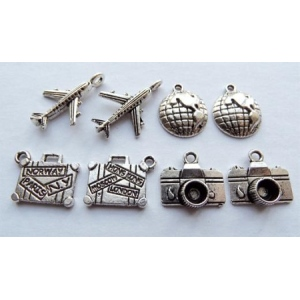 Card Charms - Travel
