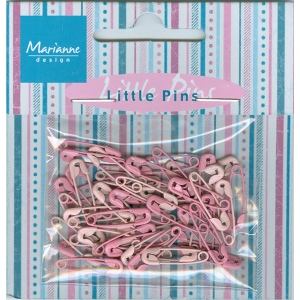 Decoration - Mini pins - light pink & pink