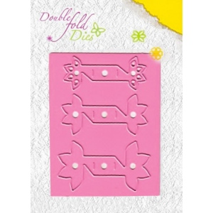 Nellie's Choice Double Fold Die - Flower Open