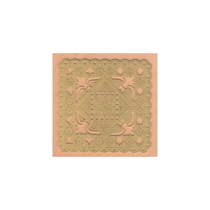 Embroidery template - star center/corner
