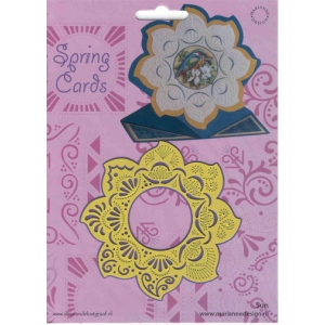 Ecstasy Crafts Spring Card Template Sun