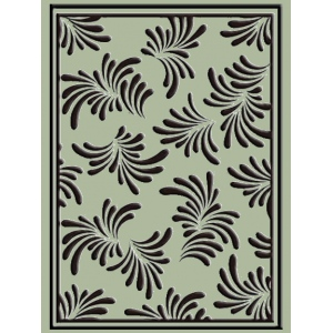 Ecstasy Crafts Embossing Folder Petals