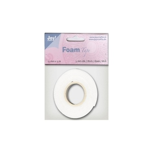 3D Craft Foam Tape 1.5mm x 12 mm wide/2 meters long