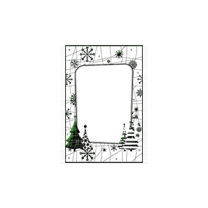 Embossing Folder - Snow Tree