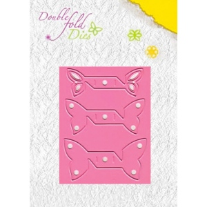 Double Fold Die - Butterfly Open