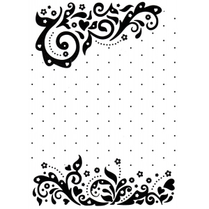 Embossing Folders Vintasia Celebrations size 4 x 6 or 106 x 150