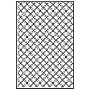 Embossing folder A4 size - Gauze
