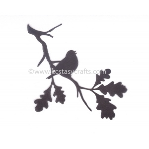 Nellie's Choice Silhouette Clear Stamp - Birdsong 2