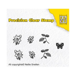 Nellie's Choice Precision Stamps -  Bell Flower
