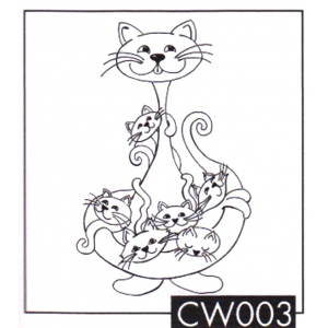 Clear Stamps My Cat World - Babysitter