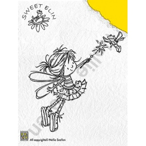 Clear Stamps - Sweet Elin - Flying Frog