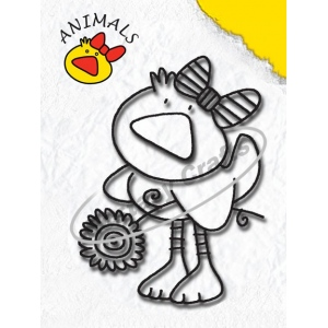 Clear Stamp - Animals Series - Duck Girl
