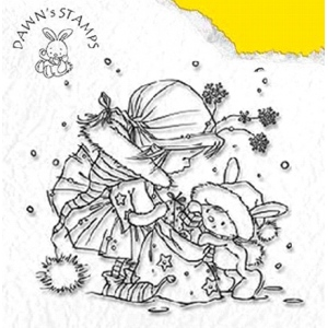 Clear Stamps - DAWN - Take A Present