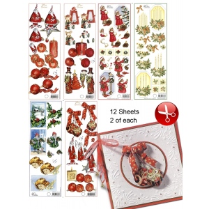 Ecstasy Crafts 3D Christmas Cutting Pack