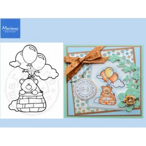 Stampfairy Cling Stamp - In The Air