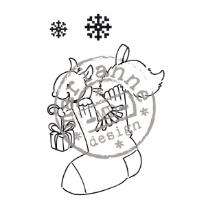 Clear Stamps - Merry Little Christmas-Stocking