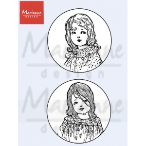 Clear Stamp - Marianne - Vintage - Girls