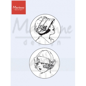 Clear Stamp - Marianne - Vintage - Sweethearts