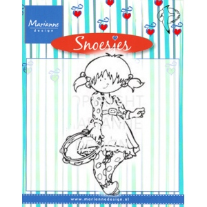 Clear Stamps - Snoesje - Music Tambourine
