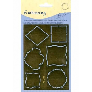 Stencils Mini Frame And Embossing Stencil(ae1205)
