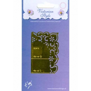 Stencils English Embossing Stencil - Flowers