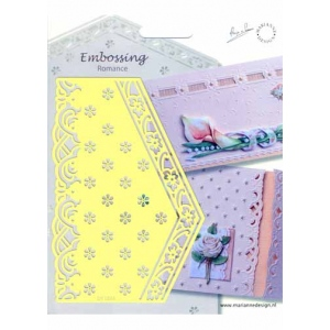 Stencils Embossing Romance Stencil Flowers (eh1843)