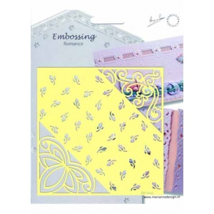 Embossing Romance Stencil Rosebuds(EH1842)