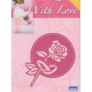 Stencils With Love Template - Rose/wedding Bands