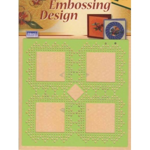 Stencils Embossing Design - Large Square Template