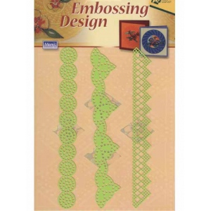 Stencils Embossing Designs - Edging/border -3