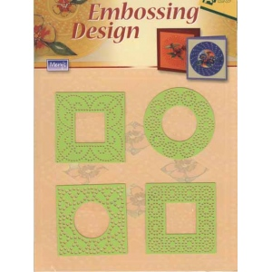 Stencils Embossing Designs - Small Squares/circle