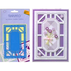 Trapunto Stencil - Rectangle Lrg (TR4606)