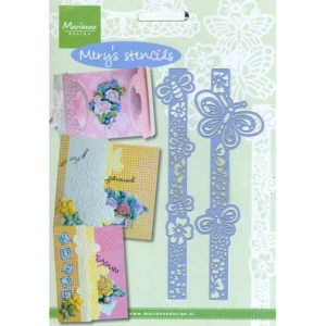 Mery's Stencils - Butterflies and Bees