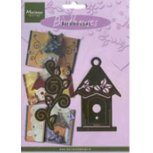 Marianne Design Template - Leaf Birdhouse